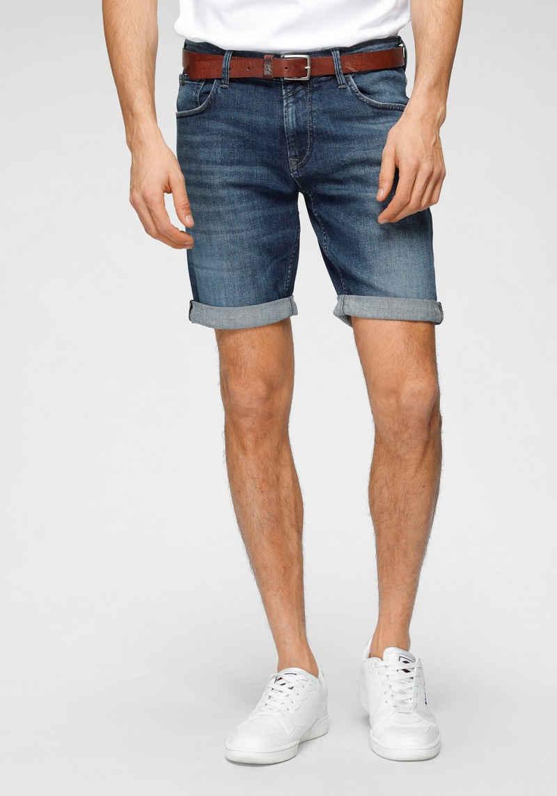 TOM TAILOR Denim Jeansshorts mit leichten Abriebeffekten