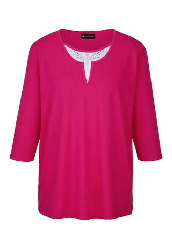 m. collection 3/4-Arm-Shirt in madingas 2-in-1 imita...