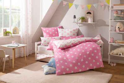 Kinderbettwäsche »Stella«, Lüttenhütt, mit niedlichen Sternen