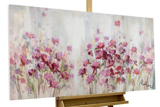 KUNSTLOFT Gemälde »Lilac Reverie«, handgemaltes Bild auf Leinwand