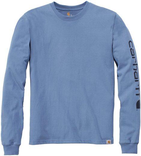 Carhartt T-Shirt »SLEEVE LOGO T-SHIRT L/S«