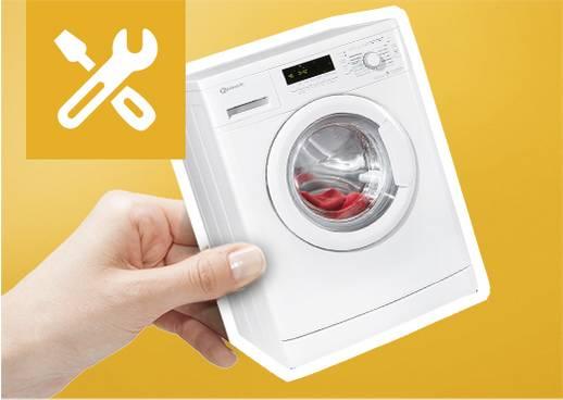 Kostenloser Anschlussservice für Waschmaschinen