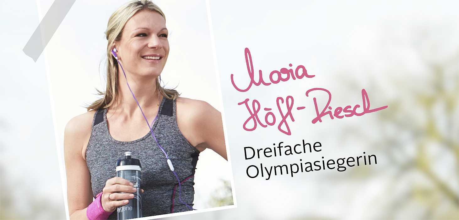 Aktiv mit Maria Höfl-Riesch