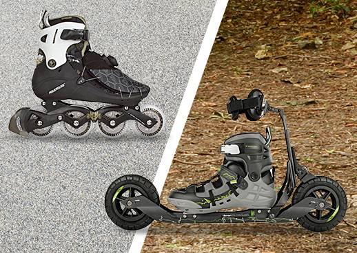 Streckenauswahl Skaten