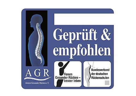 AGR - Gütesiegel Aktion Gesunder Rücken