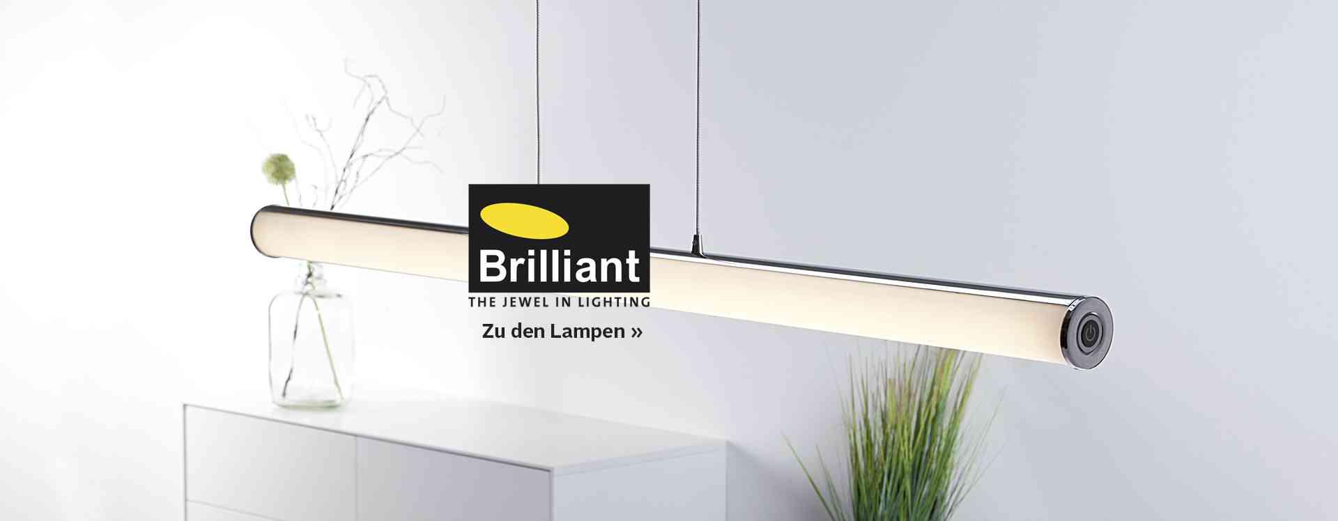 brilliant leuchten online kaufen otto. Black Bedroom Furniture Sets. Home Design Ideas