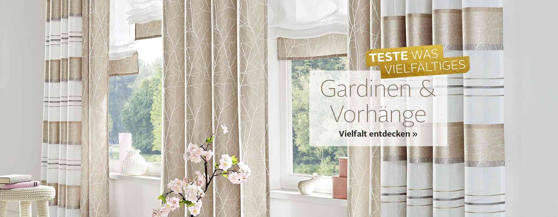 gardinen vorh nge online kaufen viele ma e otto. Black Bedroom Furniture Sets. Home Design Ideas