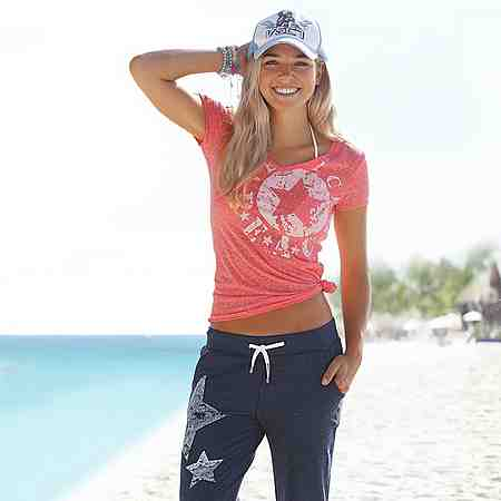 Damen: Пляжная мода: Strandbekleidung: Strandshirts