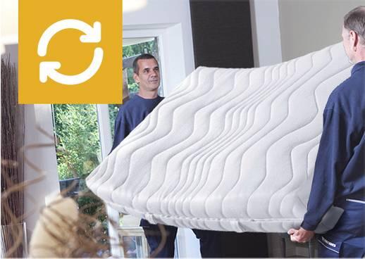 Matratzen-Mitnahme