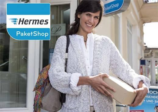 Lieferung an Hermes PaketShops
