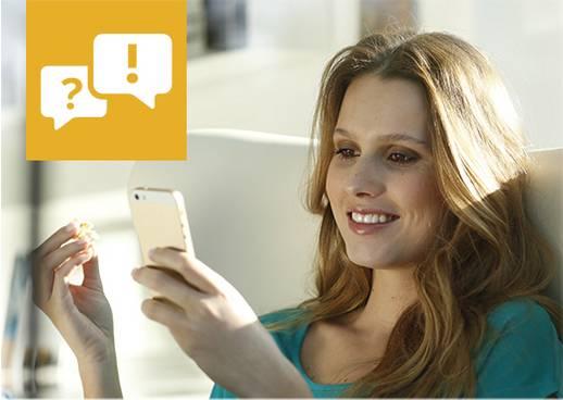 SMS an die 6886
