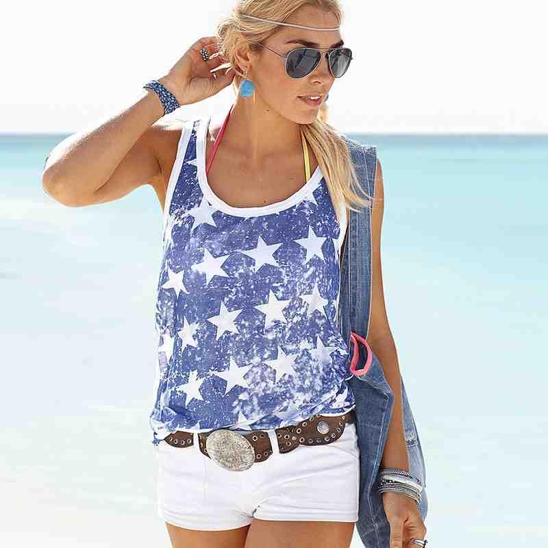 Bademode: Strandbekleidung: Strandtops