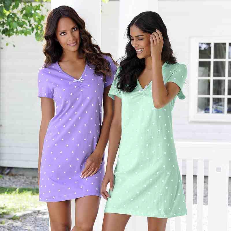 Damen: Wäsche: Nachtwäsche: Nachthemden