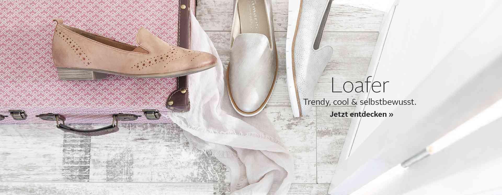 Ob Büro oder Freizeit: Loafer sind vielfältig. Entdecken Sie jetzt die verschiedenen Styles und Farben!