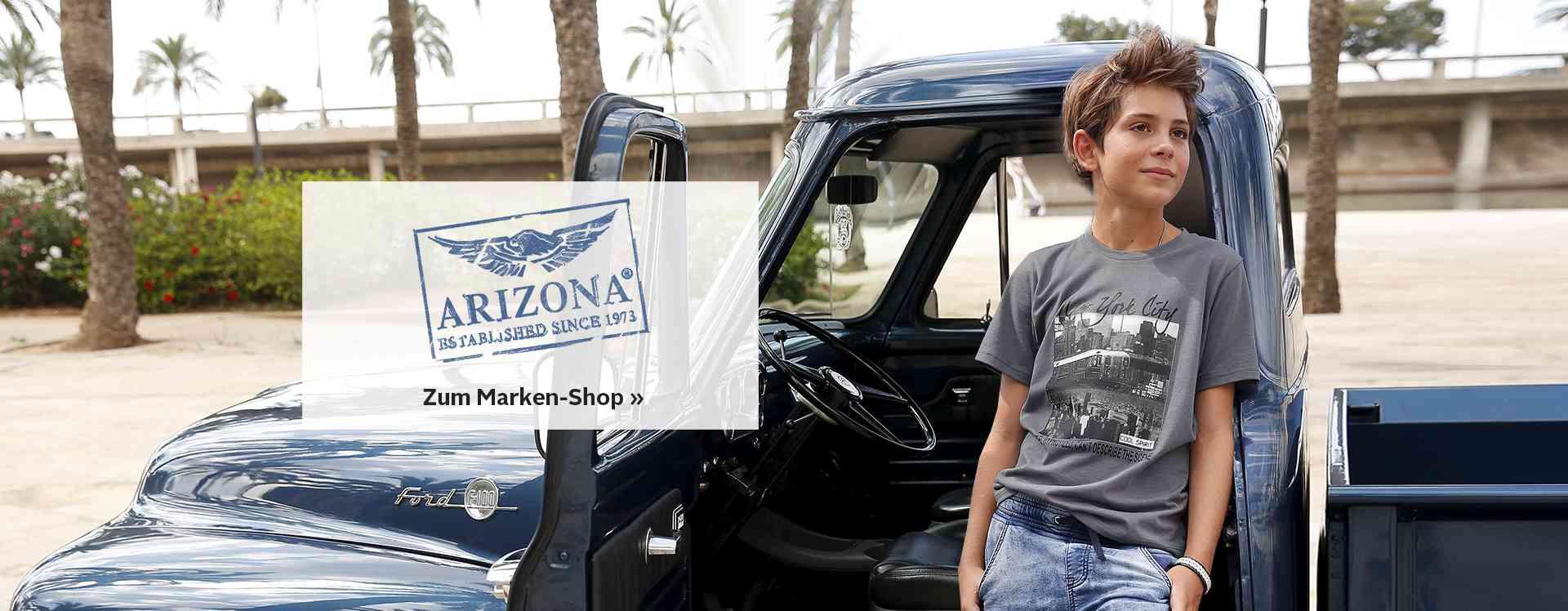 Zur Jungenmode von Arizona.