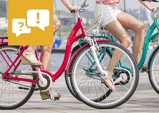Passende Fahrrad finden