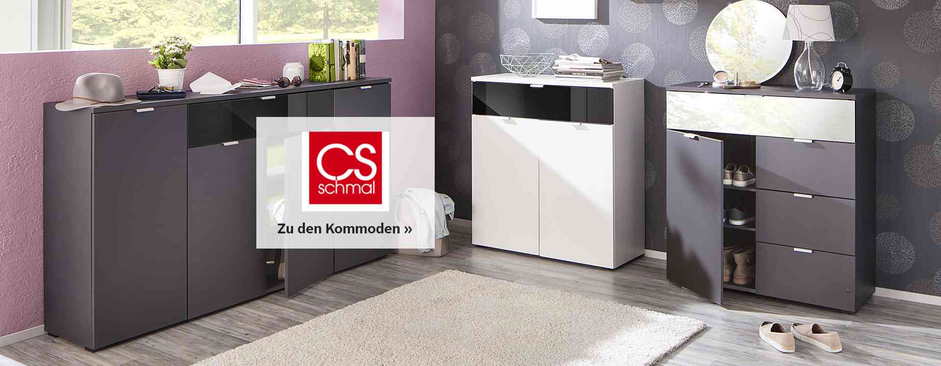 cs schmal m bel online kaufen otto. Black Bedroom Furniture Sets. Home Design Ideas