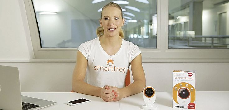 Video Erklärung für Smartfrog Überwachungskamera