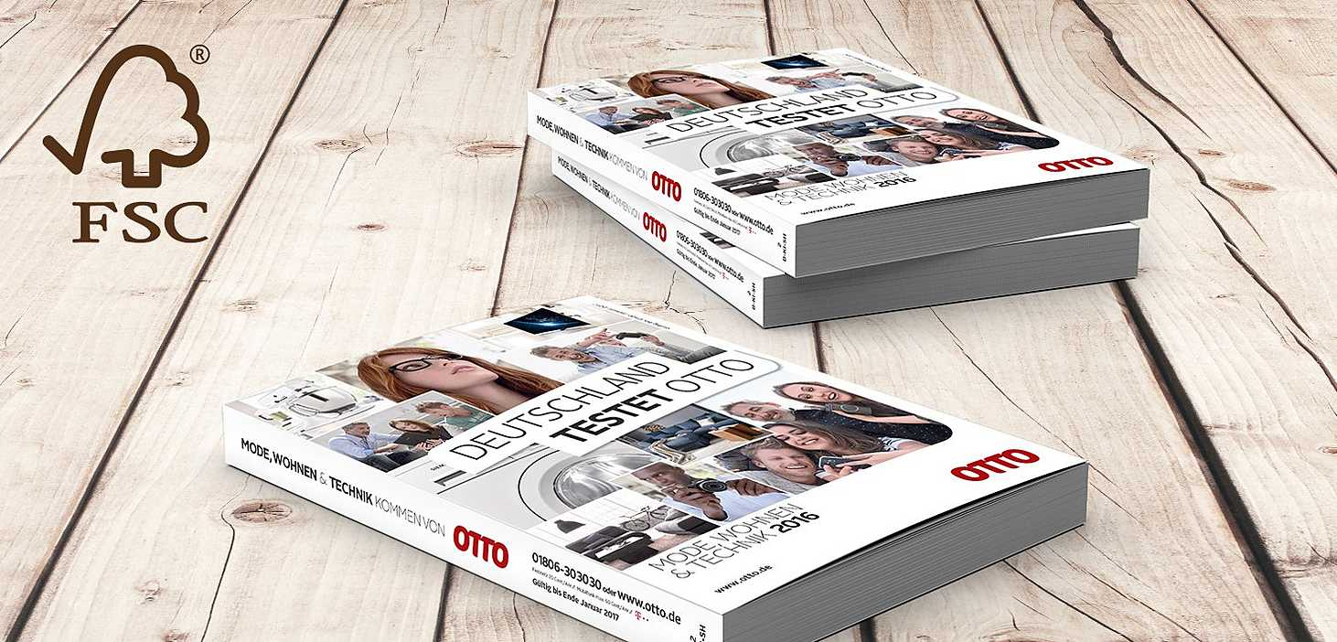 FSC Papier, FSC Werbemittel, FSC OTTO