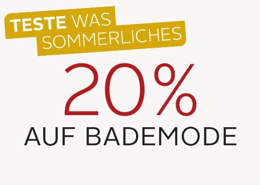 20% Bademode