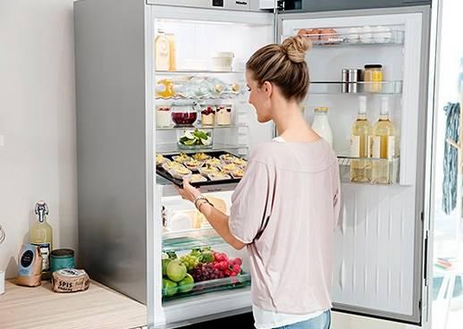 Miele XL-Innenraum Kühlschrank