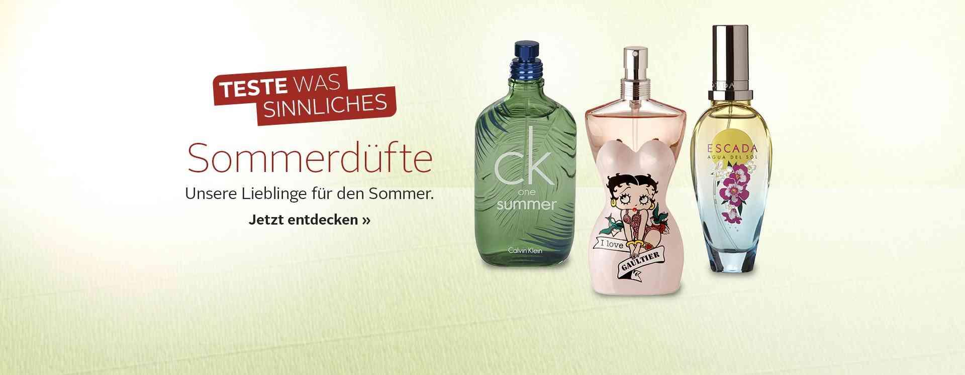 Entdecken Sie unsere große Auswahl verschiedener Parfums und Duft Sets für die Frau.