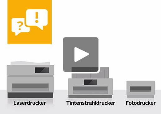 Beratungsvideo Drucker