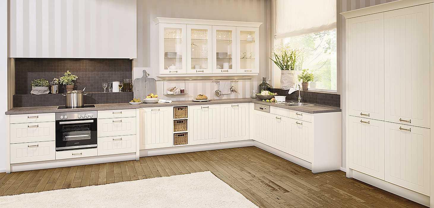Best-Ager Küche Cornwall in Magnolie