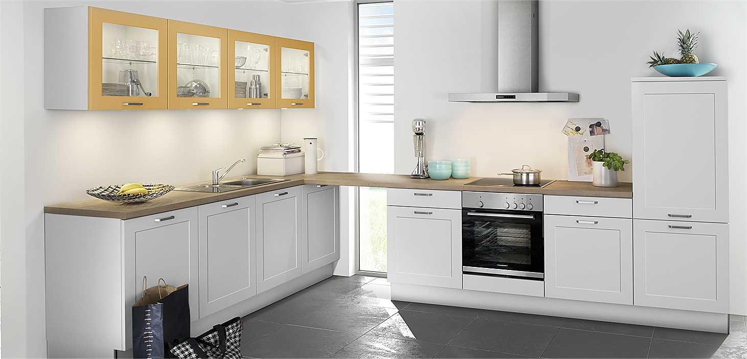 Landhausküche Classy in Weiß