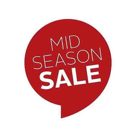 % Sale: Aktionen: Mid-Season Sale