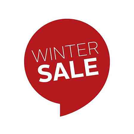 % Sale: Aktionen: Winter Sale