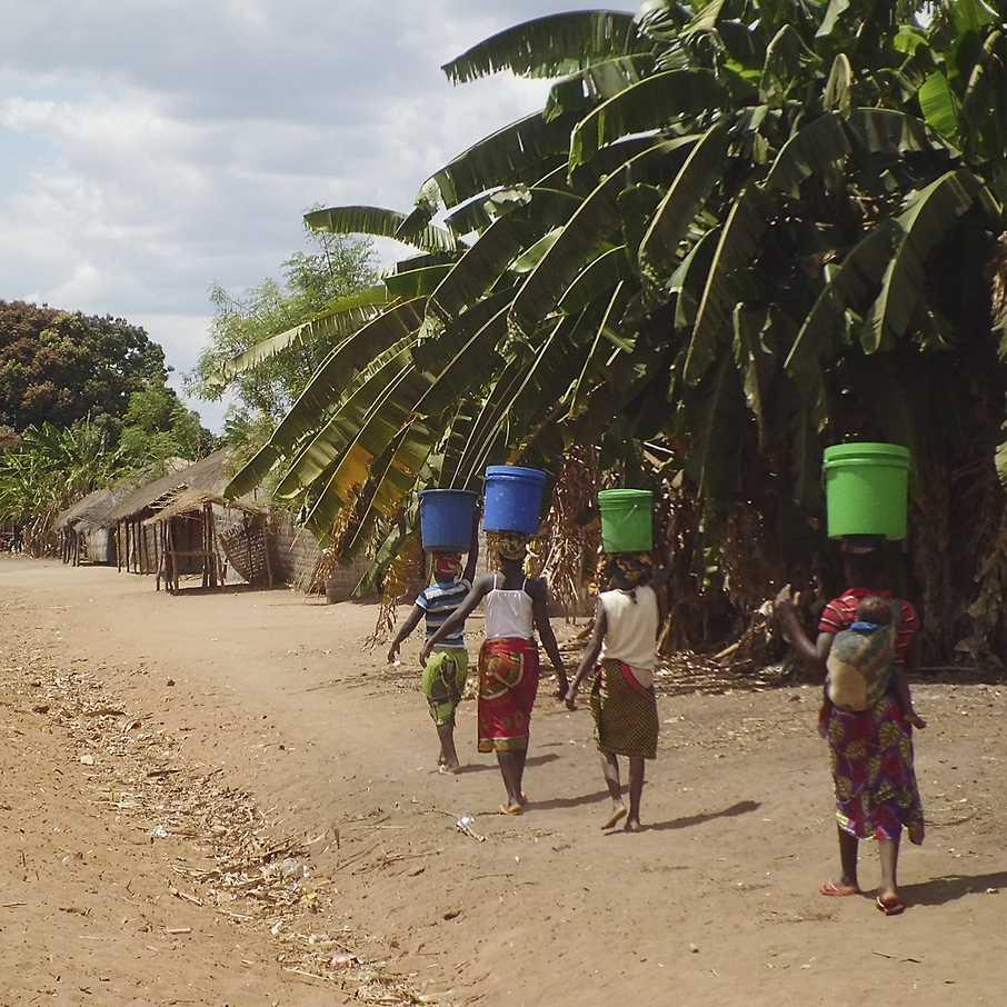 Wasser für Mosambik, WASH-Projekt, Cotton made in Africa