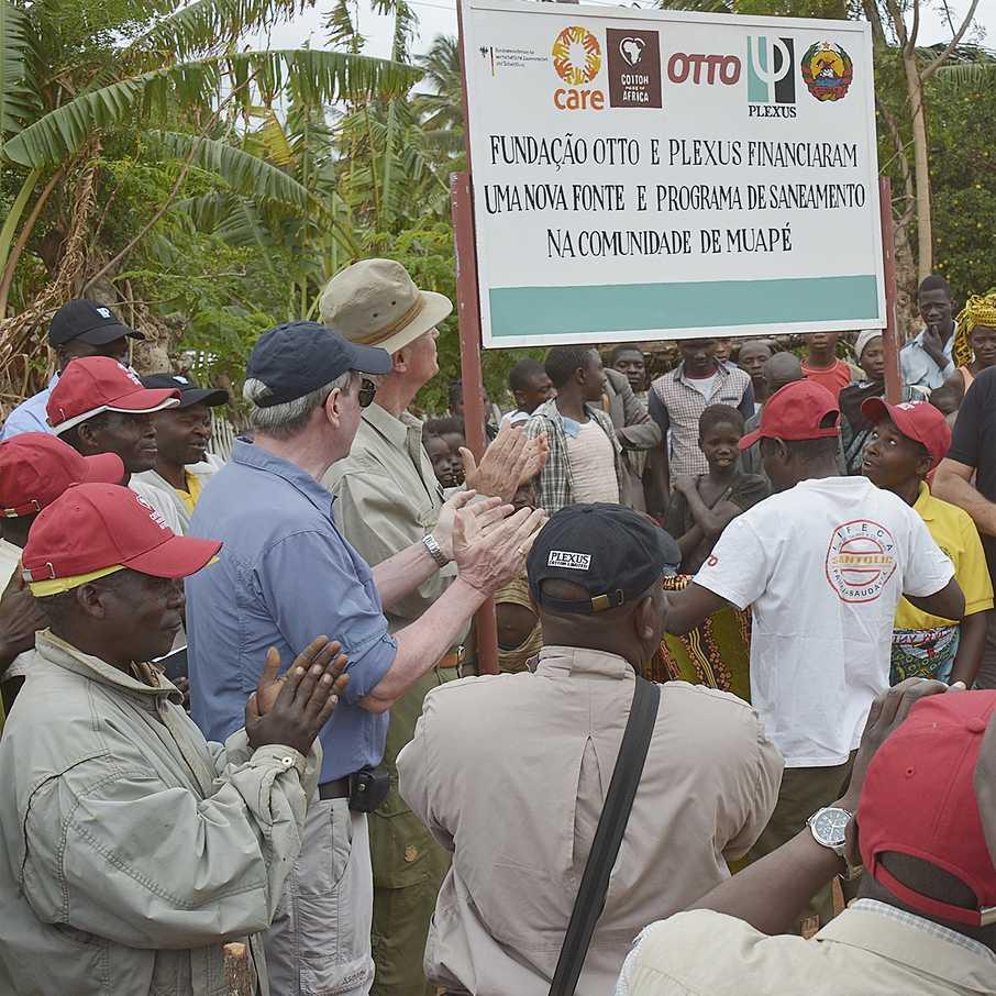 Wasser für Mosambik, Cotton made in Africa, WASH