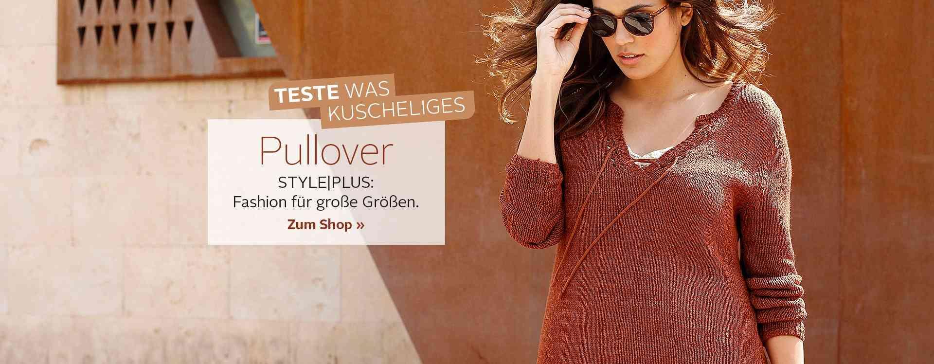 Diese Auswahl an Pullover in großen Größen lässt keine Wünsche offen. Jetzt reinschauen bei OTTO.