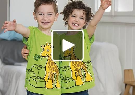 LEGO DUPLO Prämienaktion Gratis T-Shirt