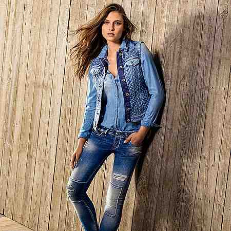 Jeans: Destroyed-Jeans