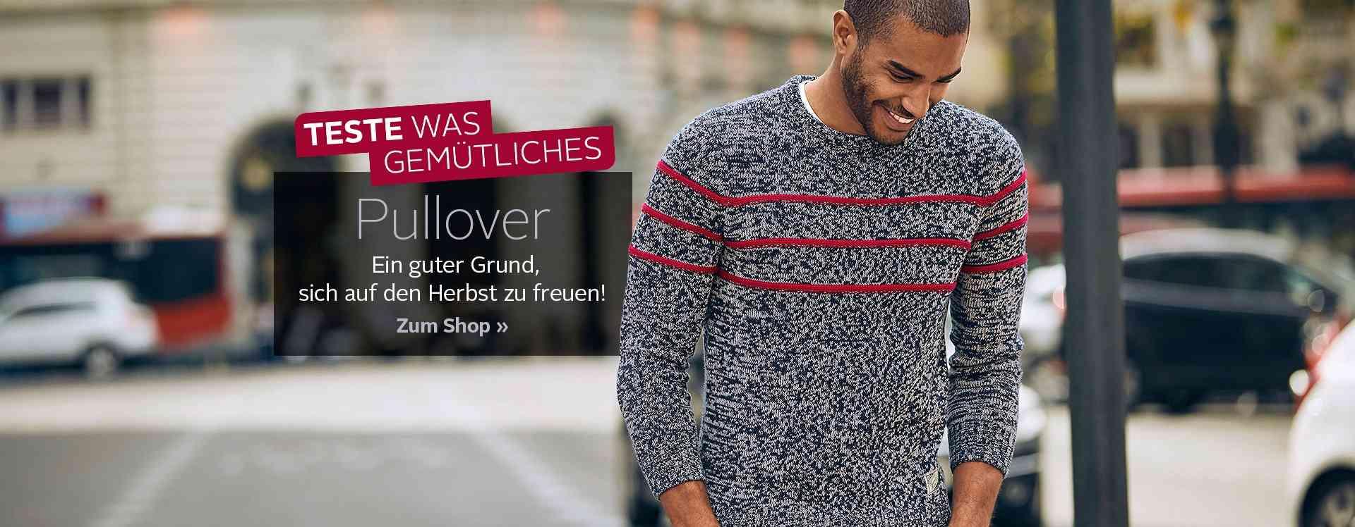 Ob sportlicher Klassiker bis trendiger Hingucker: Ihr Favorit ist auch dabei! Entdecken Sie jetzt unsere vielfältige Pullover-Auswahl.