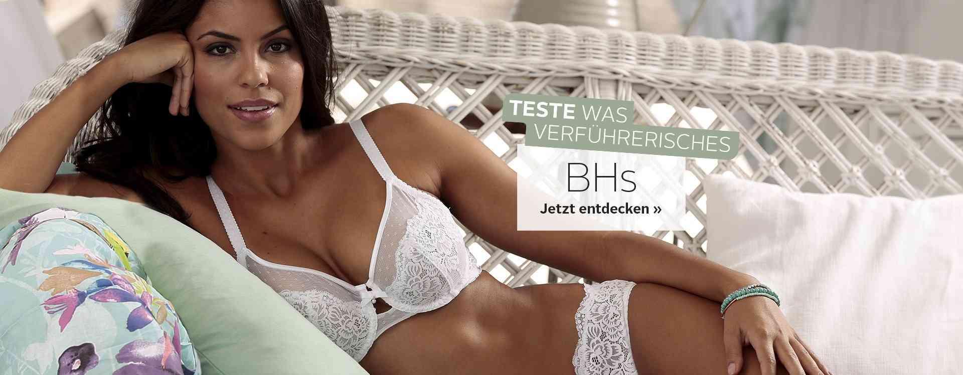 Traumhafte BHs aus der aktuellen Wäsche-Kollektion von OTTO. Jetzt im Online-Shop BHs in allen Formen und Farben entdecken. Ob Bügel-BH für große Cups oder Dekolleté-Wunder für einen größeren Busen.