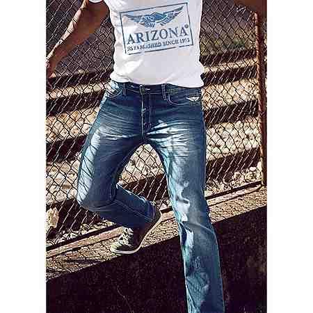 Natürlich lässiger Jeanslook von Arizona. Jetzt entdecken!