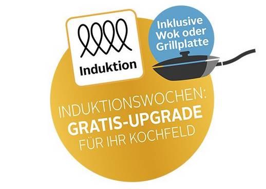 Induktionswochen: Gratis-Upgrade für Ihr Kochfeld