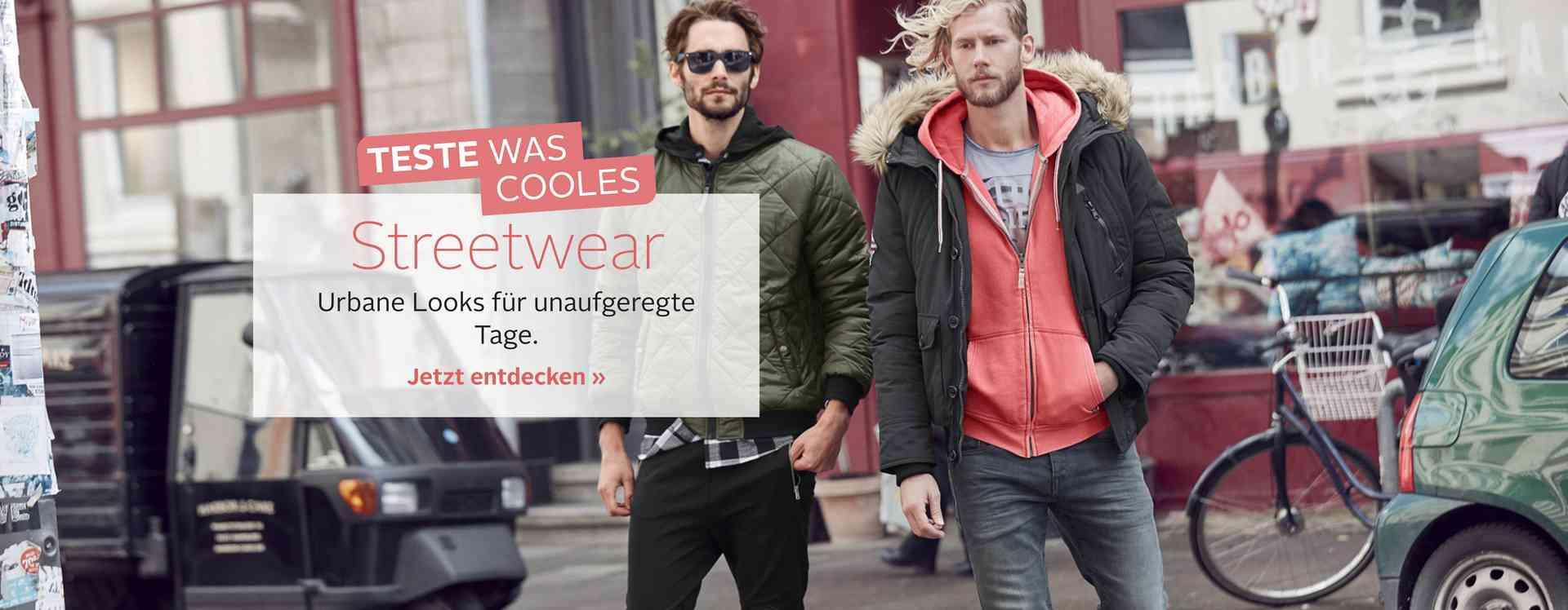 lässige und coole Streetwear- jetzt entdecken!