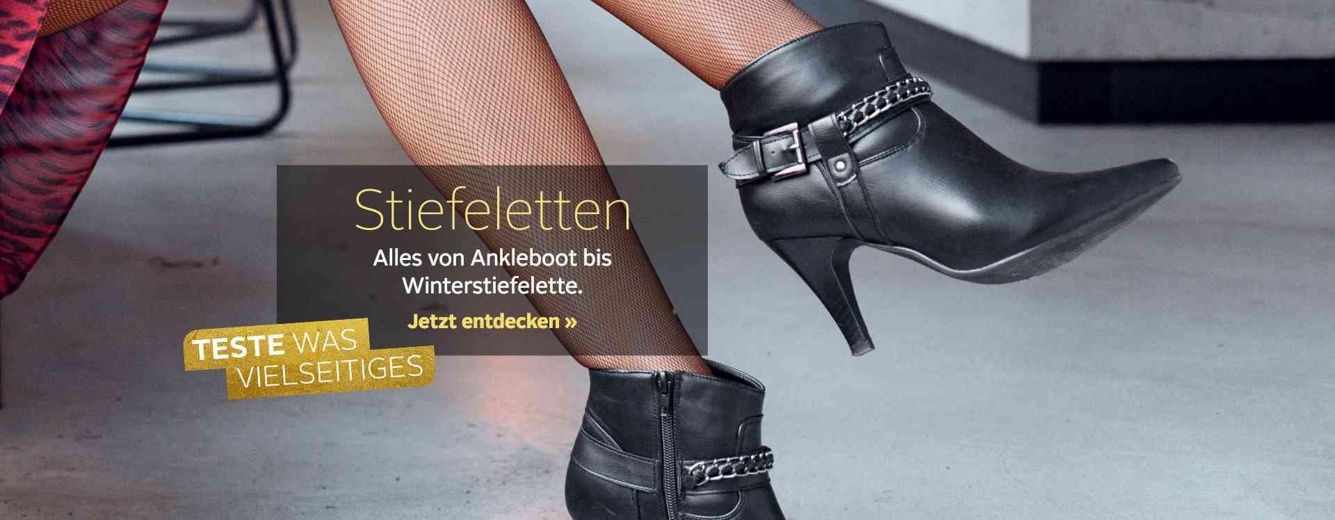 Stiefeletten-Vielfalt: Von elegant bis vintage, von gewagt bis sportlich- hier finden Sie die riesige Stiefeletten-Auswahl von OTTO.