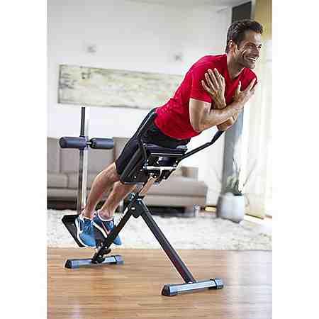 Sportliche Fitnessgeräte für zu Hause - finden Sie hier Ihren passenden Heimtrainer, Crosstrainer oder Hantelbank.