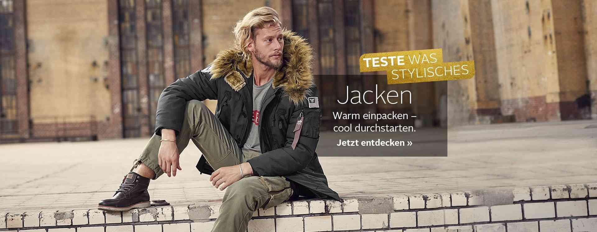 Jacken-Vielfalt. Der schönste Begleiter für kalte Tage. Zum Shop.