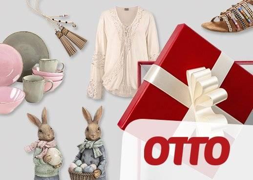 Geschenkgutscheine von 10 bis 250 Euro bei OTTO - immer eine Gute Wahl.