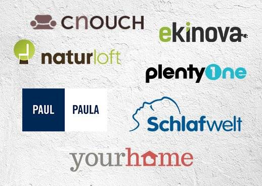 OTTOs Spezialshops - Schlafwelt, Yourhome, Cnouch, Naturloft, Ekinova, PlentyOne, Paul-Paula
