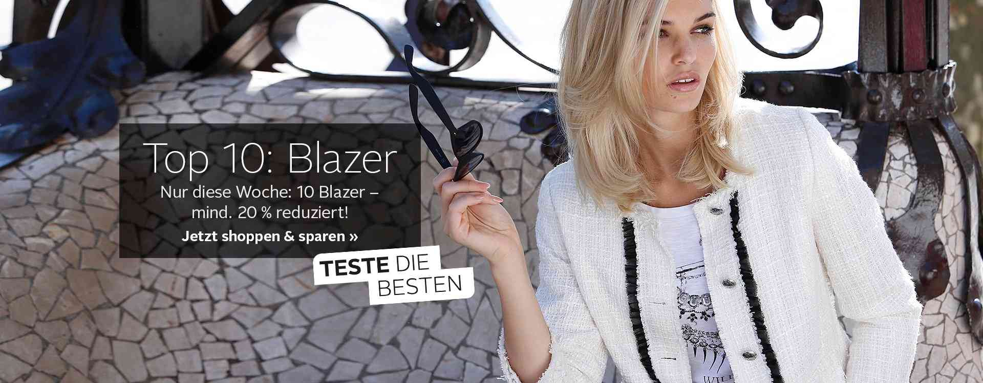 Von elegant bis sportlich  Sie bei OTTO Damen Blazer für jeden Anlass.