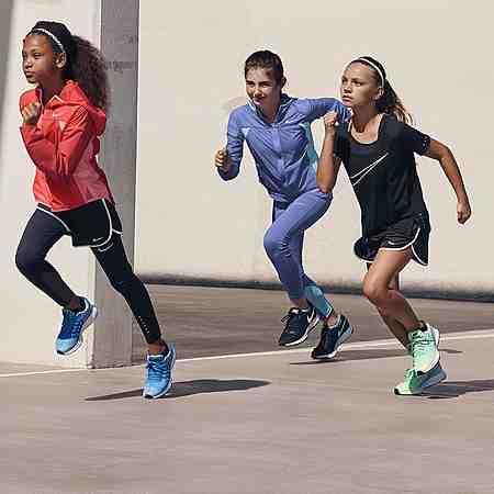 Laufen: Mädchen