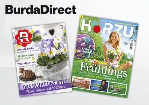 Shopping&more BurdaDirect Hörzu Ratgeber Rabatt Gutschein 80% sparen