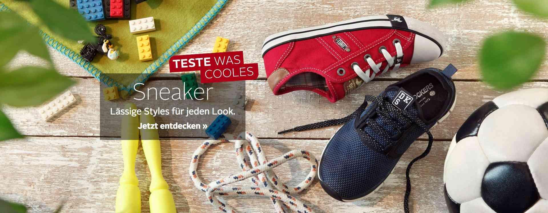 In diesen bequemen Sneaker für Jungs fühlen sich die kleinen Entdecker pudelwohl!